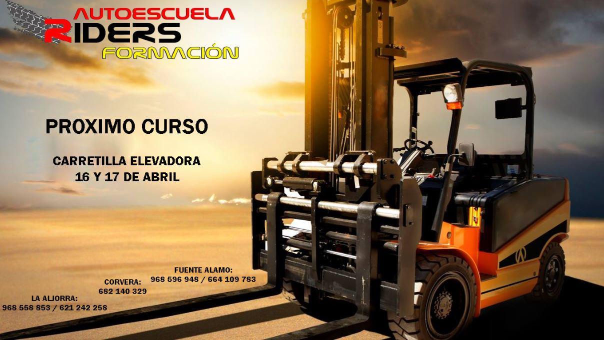 CURSO CARRETILLA ELEVADORA