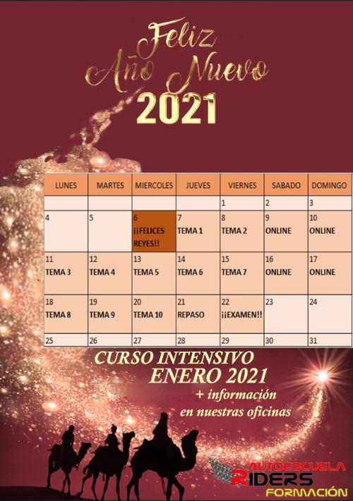 CURSO INTENSIVO ENERO 2021